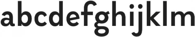 Brightwell Medium otf (500) Font LOWERCASE