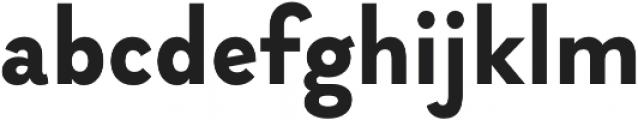 Brightwell otf (700) Font LOWERCASE