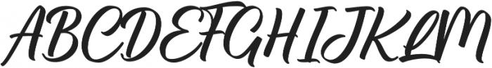 Brillotus otf (400) Font UPPERCASE