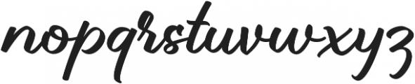 Brillotus otf (400) Font LOWERCASE