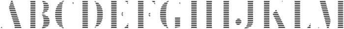 Brim Narrow Fat Lines otf (800) Font UPPERCASE