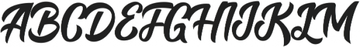 Bring Heart otf (400) Font UPPERCASE