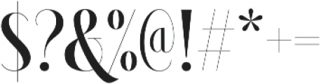 Brioche-Bold otf (700) Font OTHER CHARS