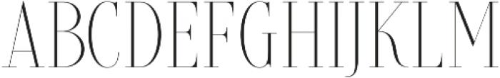 Brioche Extra Light otf (200) Font UPPERCASE