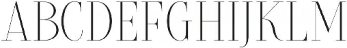 Brioche Extra Light otf (200) Font LOWERCASE