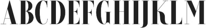 Brioche ExtraBold otf (700) Font UPPERCASE