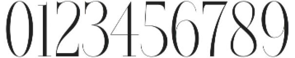 Brioche Light otf (300) Font OTHER CHARS