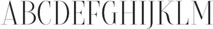 Brioche Light otf (300) Font LOWERCASE