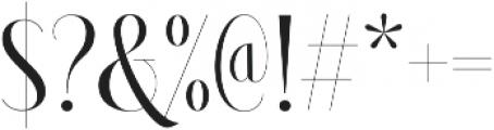 Brioche Medium otf (500) Font OTHER CHARS