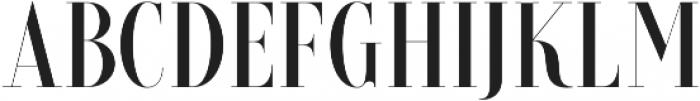 Brioche SemiBold otf (600) Font UPPERCASE