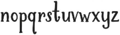 Brioche otf (700) Font LOWERCASE