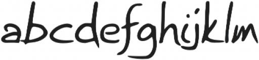 Briskly otf (400) Font LOWERCASE