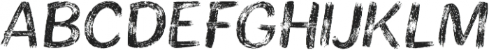 Bristles Regular otf (400) Font UPPERCASE