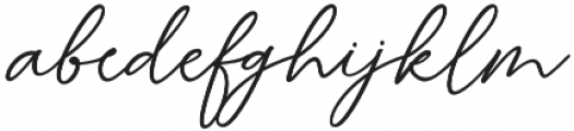Britany otf (400) Font LOWERCASE