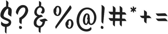 Brite Script otf (400) Font OTHER CHARS