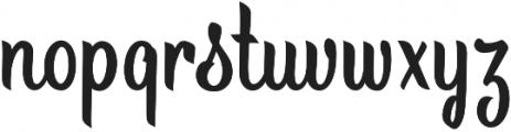 Brite Script otf (400) Font LOWERCASE