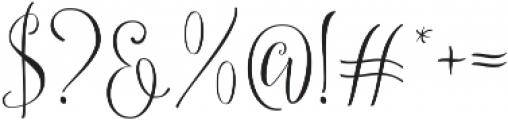 Britney Star ttf (400) Font OTHER CHARS