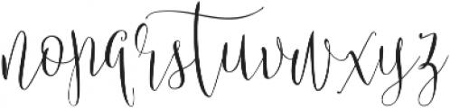 Britney Star ttf (400) Font LOWERCASE