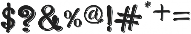 Bro Rintto Regular otf (400) Font OTHER CHARS