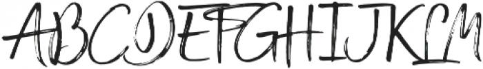 Broadcast Matter otf (400) Font UPPERCASE