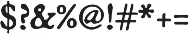 Broadsheet otf (400) Font OTHER CHARS