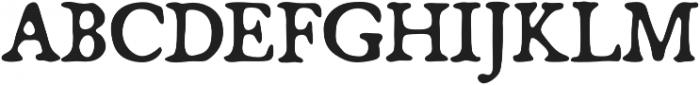 Broadsheet otf (400) Font UPPERCASE