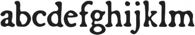 Broadsheet otf (400) Font LOWERCASE