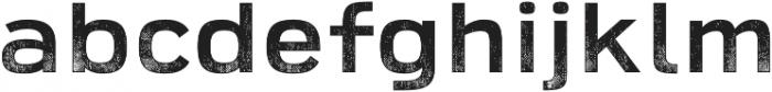 Broadwell Distressed otf (400) Font LOWERCASE