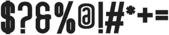 Broady Sans otf (400) Font OTHER CHARS