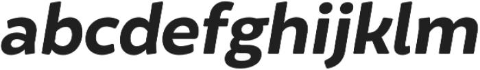 Brocha Alt Bold Italic otf (700) Font LOWERCASE