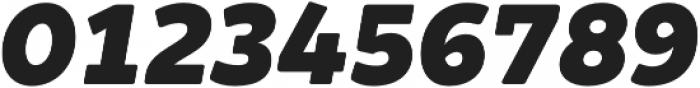Brocha Black Italic otf (900) Font OTHER CHARS