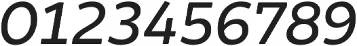 Brocha Regular Italic otf (400) Font OTHER CHARS