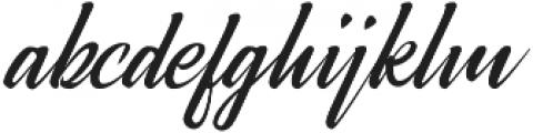 Broda Regular otf (400) Font LOWERCASE