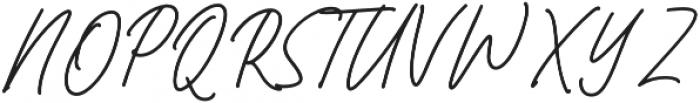 Bromrose Sands Signature otf (400) Font UPPERCASE