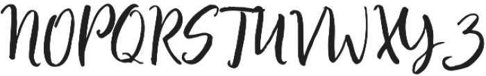 Bronetto Script Regular otf (400) Font UPPERCASE