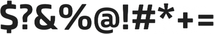 Bronkoh ExtraBold otf (700) Font OTHER CHARS