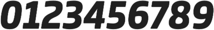 Bronkoh Heavy Italic otf (800) Font OTHER CHARS
