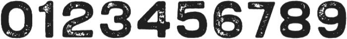 Bronn Rust Bold Fill G otf (700) Font OTHER CHARS