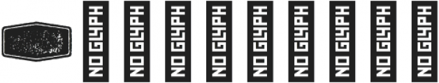 Bronn Rust Extras Ribbons G ttf (400) Font OTHER CHARS