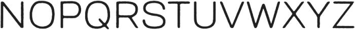 Bronn Rust Light otf (300) Font UPPERCASE