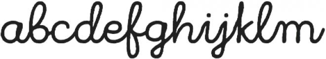 Bronn Rust Script Plain otf (400) Font LOWERCASE