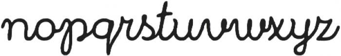 Bronn Rust Script Plain ttf (400) Font LOWERCASE