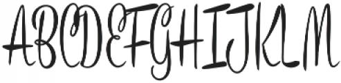 Bronze Script otf (400) Font UPPERCASE