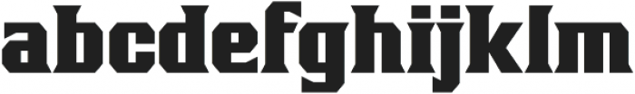 Bronzier Bold otf (700) Font LOWERCASE