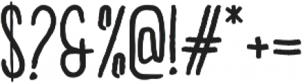 Brook Regular ttf (400) Font OTHER CHARS