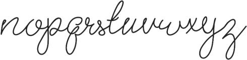 Brooklyn Girl Light ttf (300) Font LOWERCASE