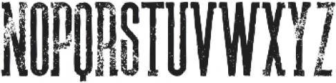 Brooklyn Grunge otf (400) Font LOWERCASE