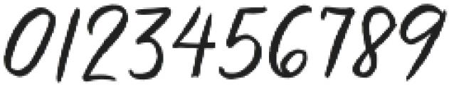 Brooklyn Heights Script otf (400) Font OTHER CHARS