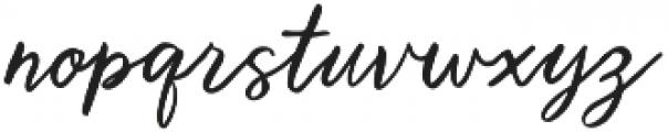 Brooklyn Heights Script otf (400) Font LOWERCASE