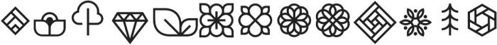 Brooklyn Heritage DE otf (400) Font LOWERCASE
